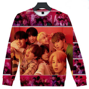 [50% OFF] Kpop BTS『Map of the Soul: Persona』Album Photo Sweatshirt - Neko Suki,