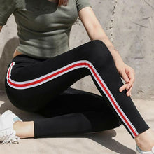 [30% OFF] Ultra Comfort Cotton Stretch Coloured Stripe Leggings - Neko Suki,
