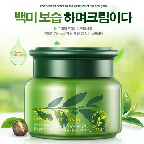 [35% OFF] Korean Green Tea Essence Moisturising Skincare Night Cream - Neko Suki,