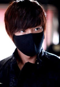 [FREE!!] Lee Min Ho (City Hunter) K-Drama Cotton Black Face Mask [Cover Shipping Only]. - Neko Suki,