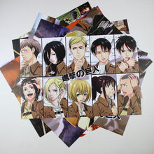 8 Pieces*(42x29cm) Attack On Titan High Quality Vinyl Anime Posters Wallpaper - Neko Suki,