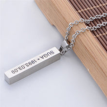 [FREE!] Kpop BTS 'Birthday Necklace' [Cover Shipping Only]. - Neko Suki,