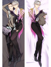 "50x150cm ( ͡° ͜ʖ ͡°) ""Yuri On Ice!"" Viktor x Yuuri & Yuri Body Pillow Dakimakura [Casing Cover Only] - Neko Suki,"