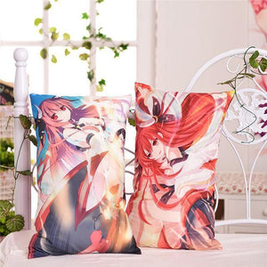Anime Dakimakura (抱き枕) 24 Choices: AOT, Date A Live, Akame Ga Kill Japanese Body Pillow 2WAY Fabric 35x55cm - Neko Suki,