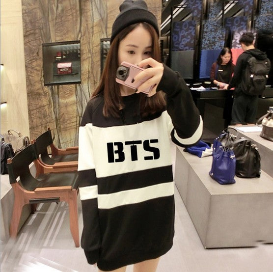 [50% OFF] Kpop BTS Premium Cotton & Wool Mix Knitted Sweater - Neko Suki,