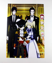 8 Pieces*(42x29cm) Kuroshitsuji Black Butler High Quality Vinyl Anime Posters Wallpaper - Neko Suki,