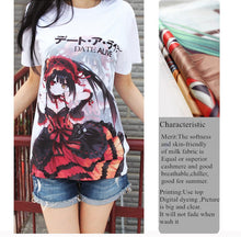 Mirai Nikki Yandere Queen Yuno Gasai Graphic Printed Cotton T-Shirt - Neko Suki,