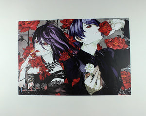 8 Pieces*(42x29cm) Tokyo Ghoul High Quality Vinyl Anime Posters Wallpaper - Neko Suki,
