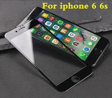 "Carbon Fiber ""Screen Protector"" With Soft Edge 3D Curved Tempered Glass For iPhone 6, 6 plus, 6s, iPhone 7, 7 plus - Neko Suki,"