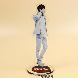 [50% OFF] Kpop BTS 'Youth Album' Photo Decoration Stand Display - Neko Suki,