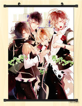 [35% OFF] (40*60cm) Diabolik Lovers Vampire Harem High Quality Roll up Canvas Anime Poster - Neko Suki,