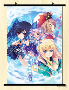 [35% OFF] (40*60cm) Ecchi Neptunia Hyperdimension High Quality Roll up Canvas Anime Poster - Neko Suki,