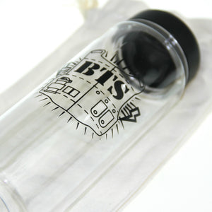 "[50% OFF] Kpop BTS Water Bottle Comes With A ""Don't Touch This is My Bottle"" Canvas Sack - Neko Suki,"