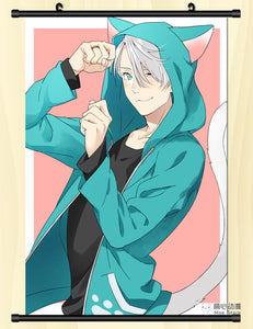 [35% OFF] (40*60cm) Yuri On Ice! High Quality Roll up Canvas Anime Poster - Neko Suki,