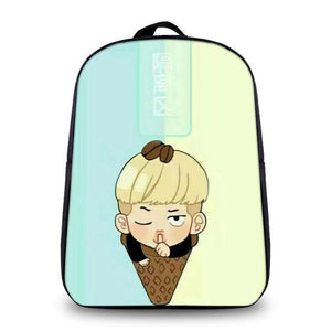 [50% OFF] Kpop BTS Fanart Printed Backpack - Neko Suki,