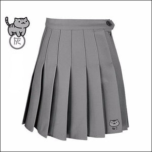 [30% OFF] Cute Japanese Comfortable High Waist Skirt - Neko Suki,