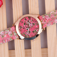 [30% OFF] Elegant Rose Floral Wrist Watch - Neko Suki,