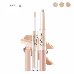 [50% OFF] Double Head Concealer Contour Highlight Pen Foundation Makeup - Neko Suki,