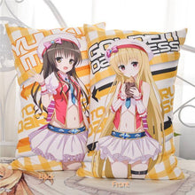 Anime Dakimakura (抱き枕) To Love Ru: Nana, Momo, Rara, Mikan, Yui Body Pillow 35x55cm & 45x70cm Plush OR 2WAY Fabric - Neko Suki,