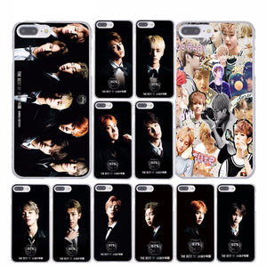 [FREE!!] Kpop BTS Bangtan Members HD Photograph Printed Hard Plastic Phone Case for Apple iPhone [Cover Shipping Only]. - Neko Suki,