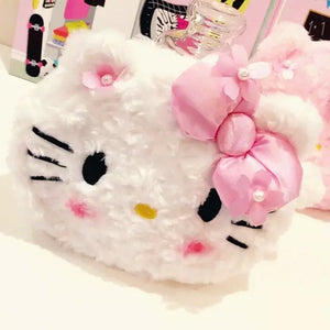 [40% OFF] Hello Kitty Makeup Cosmetic Bag - Neko Suki,