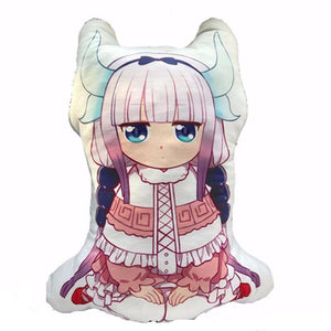 [25% OFF] Kobayashi-san Chi no Maid Dragon Kanna Kamui Doll Cushion - Neko Suki,