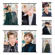 "[50% OFF] Kpop BTS ""Love Yourself '承' Her"" Roll up Canvas HD Wallpaper - Neko Suki,"