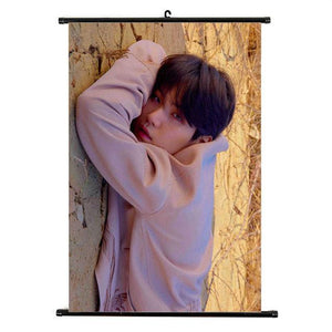 "[50% OFF] Kpop BTS ""Love Yourself '轉' Tear"" Roll up Canvas HD Wallpaper - Neko Suki,"