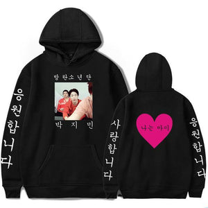 [50% OFF] Kpop BTS Cute Jimin Photo Hoodie - Neko Suki,