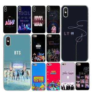 "[50% OFF] Kpop BTS ""Love Yourself"" Photo Printed Apple Phone Case - Neko Suki,"