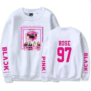 [50% OFF] Kpop BLACKPINK Square Up Album Sweatshirt - Neko Suki,
