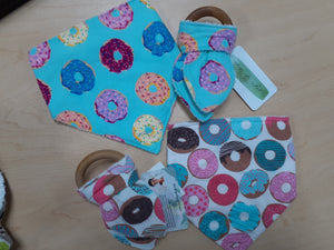 Bandana Bibs and Teething Toys