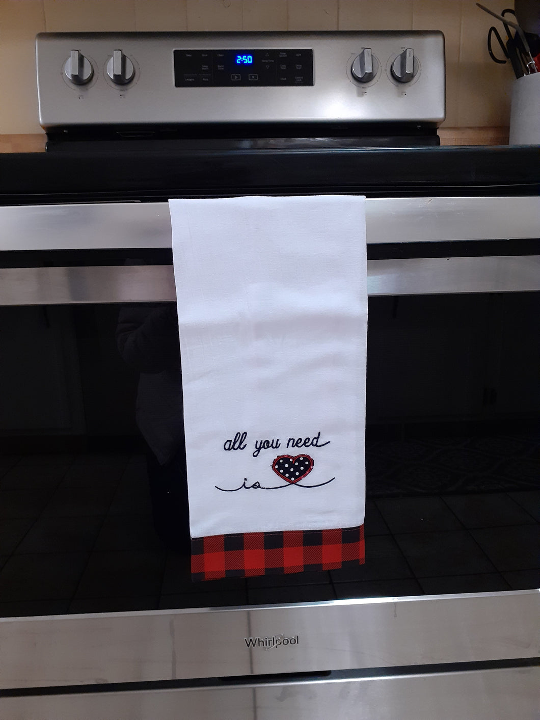 All You Need is Love Tea Towel