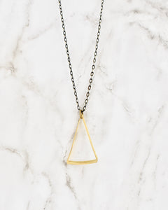 Beljoy Triangle Necklace