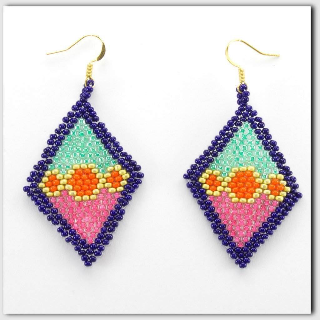Women of Hope Beaded Earrings