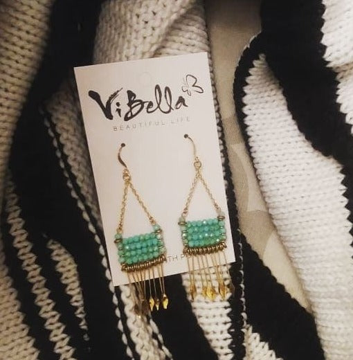 Vibella Beaded Earrings