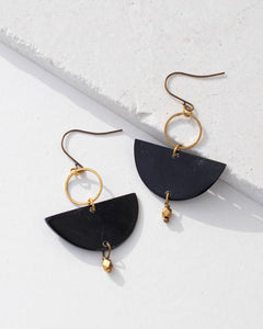 Vibella Lexie Horn Earrings