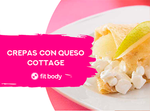 Crepas con queso cottage