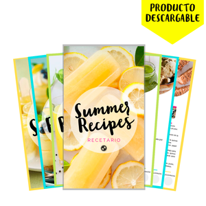 RECETARIO SUMMER RECIPES