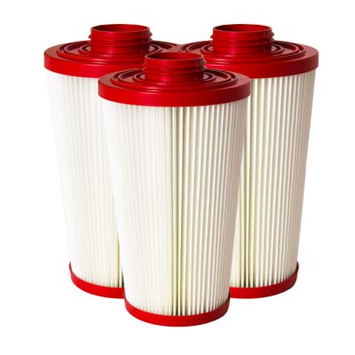 1 Case -Replacement HEPA Certified Filters 1000/2000 Series (set of 3 x 4 sets)