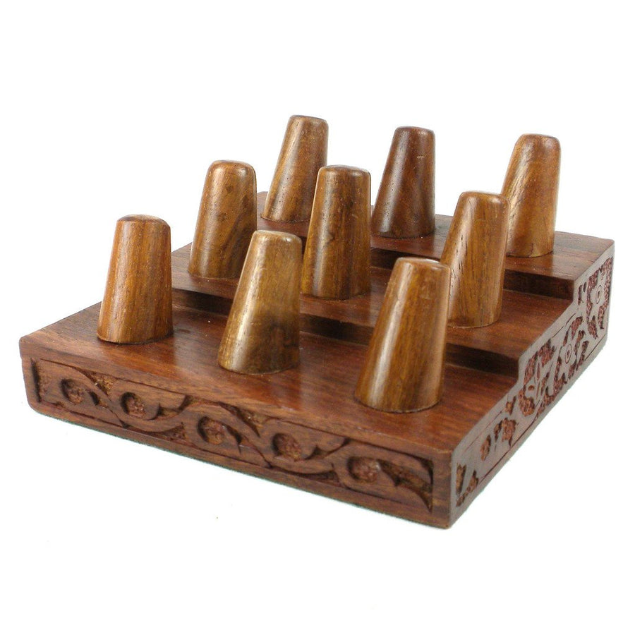 Rosewood Ring Organizer - Matr Boomie (Display)