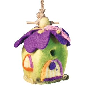 Felt Birdhouse - Pixie House Handmade and Fair Trade