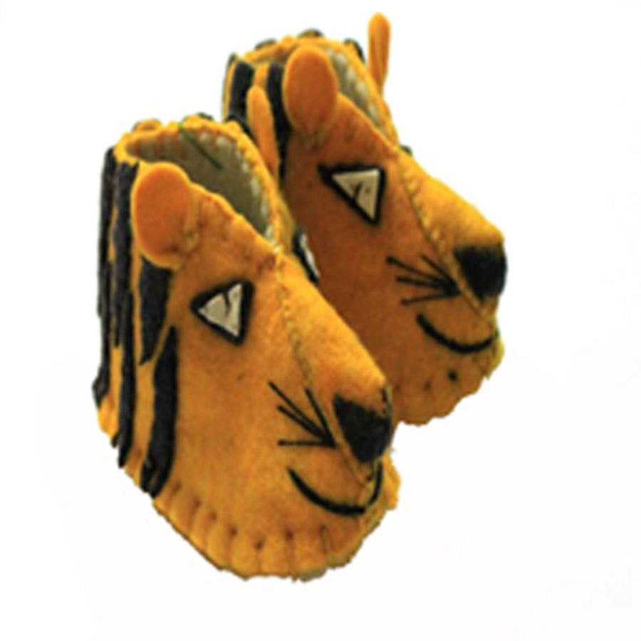 Tiger Zooties Baby Booties - Silk Road Bazaar