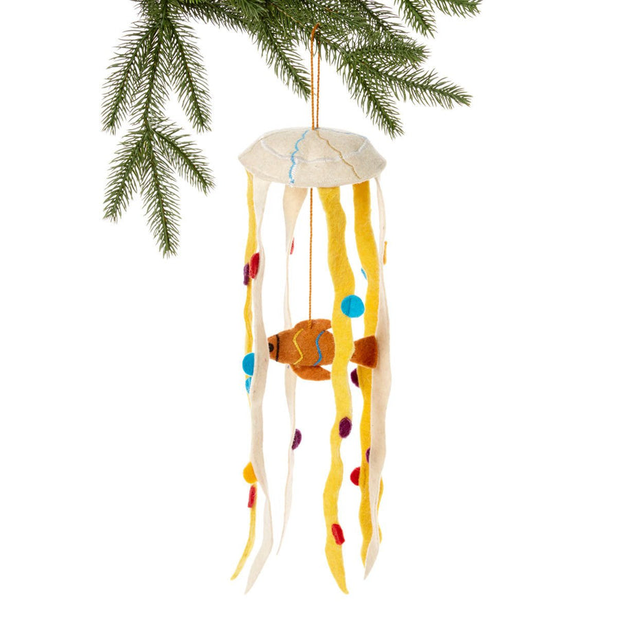 Sea Life Felt Holiday Ornament - Silk Road Bazaar (O)