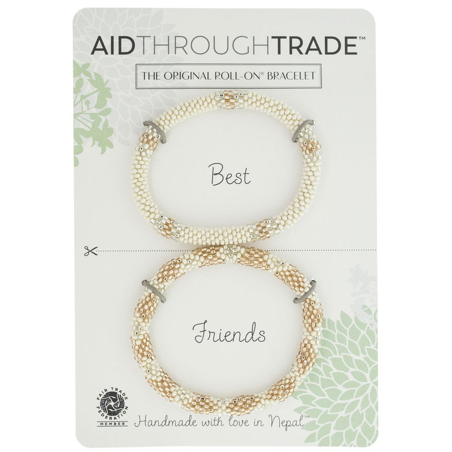 Roll-On Friendship Bracelets - Rose All Day - Aid Through Trade