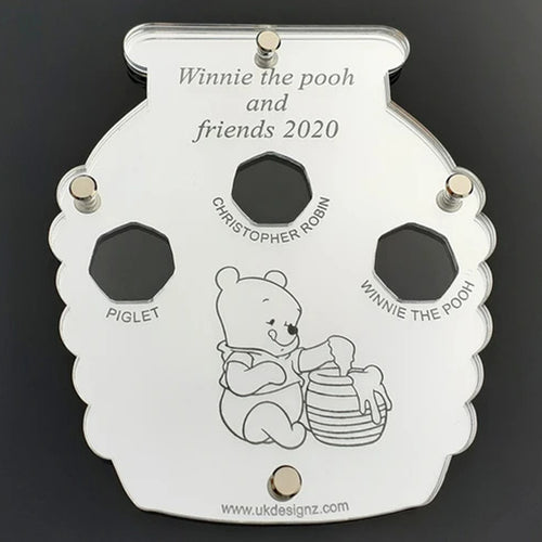 Winnie the Pooh and Friends coin display case.
