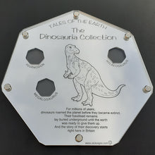 The Dinosauria Collection  Here we have the 3 x Slot Professional Coin Collection Display Case  For the following 3 x 50p coins:  1 - Megalosaurus  2 - Iguanodon  3 - Hylaeosaurus