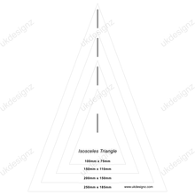plastic bunting template set