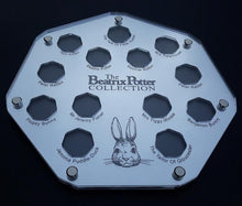 The Beatrix Potter Coin Collection Display Cases for 13 and 14 coin sets