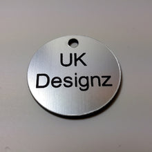 Bespoke Laminate Key Fobs - Key Tags - Keyrings - Personalised Laminate Discs